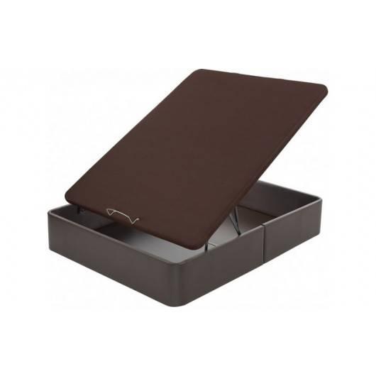 Abatible flex tapizado en polipiel y tapa 3d for Oferta colchon y canape